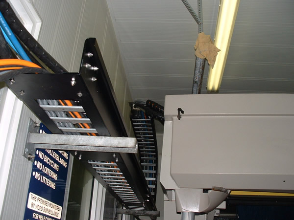 Cable Carriers And Tracks Mr Bird S Car Wash Equipment